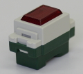 埋込形パイロットランプ 赤色   型番WN3031RK パナソニック 第一種電気工事士技能試験練習用材料