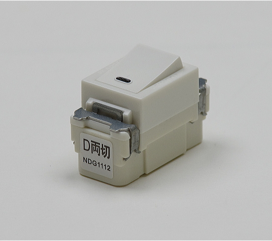 埋込連用タンブラスイッチ(両切) NDG1112 東芝 【電気工事士試験材料】【バラ売り】