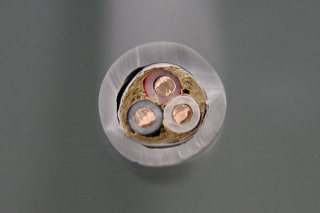 絶縁ビニルシースケーブル丸形 2.0mm 3心 (VVR)