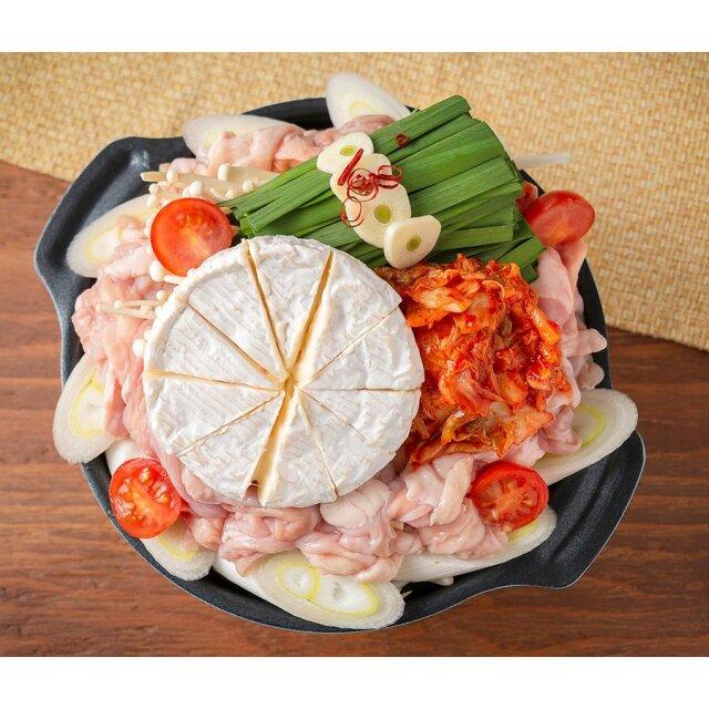 キムチチーズもつ鍋