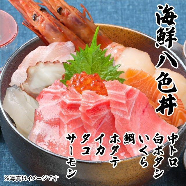 海鮮 8色丼