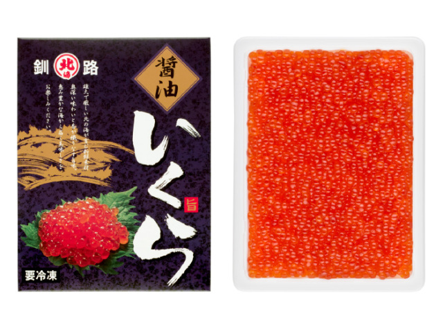 北海道産いくら醤油味500g