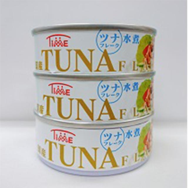 国産めばちまぐろのツナフレーク缶(水煮)