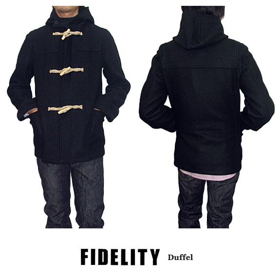 FIDELITY フィデリティ DUFFEL COAT MADE IN USA ダッフルコート 米国製 FI-24019R 【off price】 -JOE-