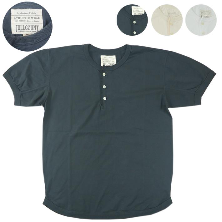 フルカウント ヘンリーネックTシャツ