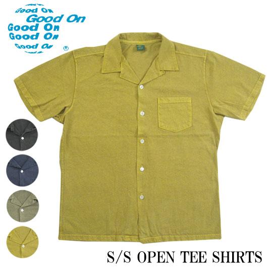 開襟 Tシャツ