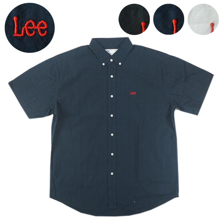 Lee ボタンダウン 半袖シャツ