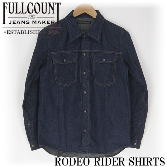 FULLCOUNT フルカウント RODEO RIDER SHIRTS デニムシャツ 4952 -JOE-
