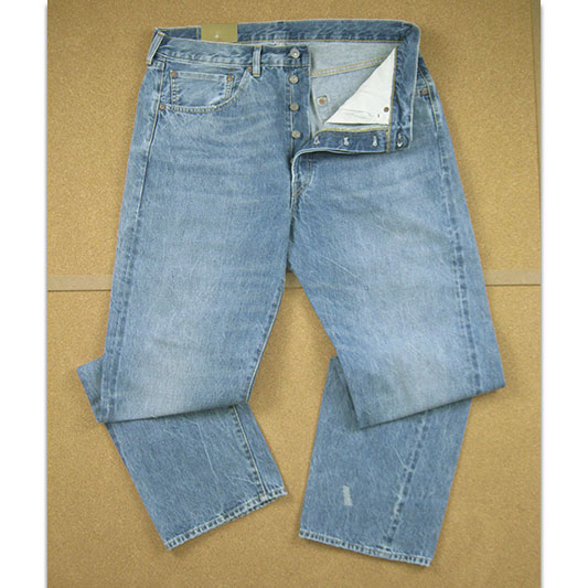 LEVIS VINTAGE CLOTHING リーバイス 501XX ヴィンテージ 1955年モデル OLIV YOU ROCK  50155-0047 【off price】 -JOE-