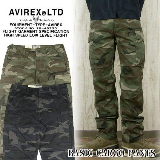 AVIREX カーゴパンツ