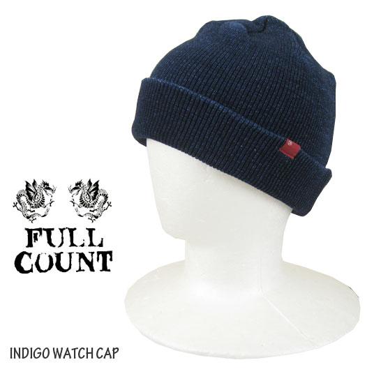 FULLCOUNT フルカウント インディゴ ワッチキャップ FC-6767 -JOE-