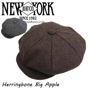 ニューヨークハット ヘリンボーン ビッグアップル