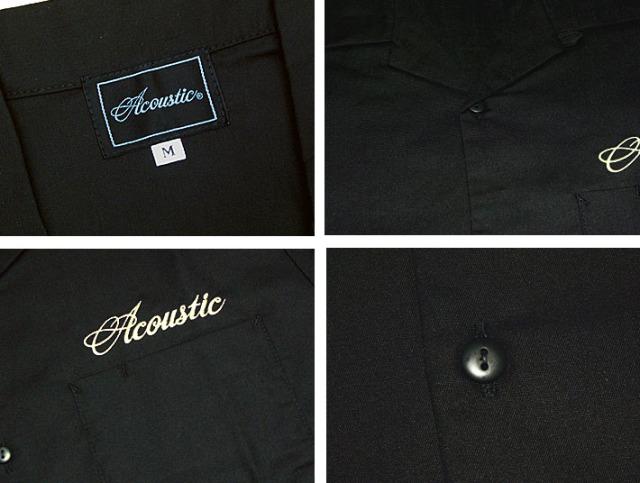 アコースティック 半袖シャツ