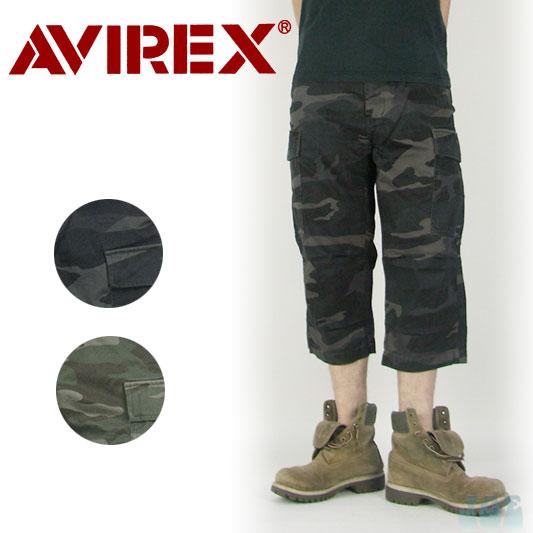 AVIREX クロップド カーゴパンツ