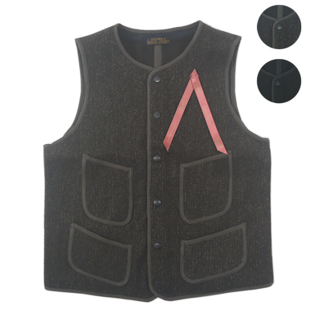 BROWN'S BEACH EARLY VEST BBJ10-001 【秋冬アウター】 -JOE-