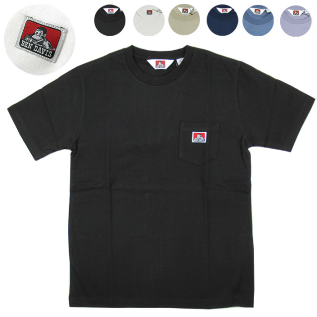 BEN DAVIS ベンデイビス ポケット Tシャツ C-9580000  【半袖Tシャツ】 【メール便可】 -JOE-