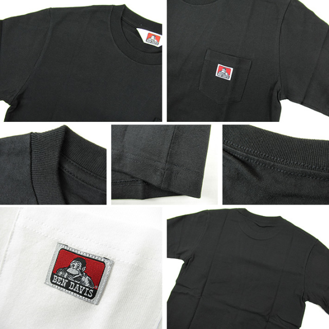 ベンデイビス ポケットTシャツ