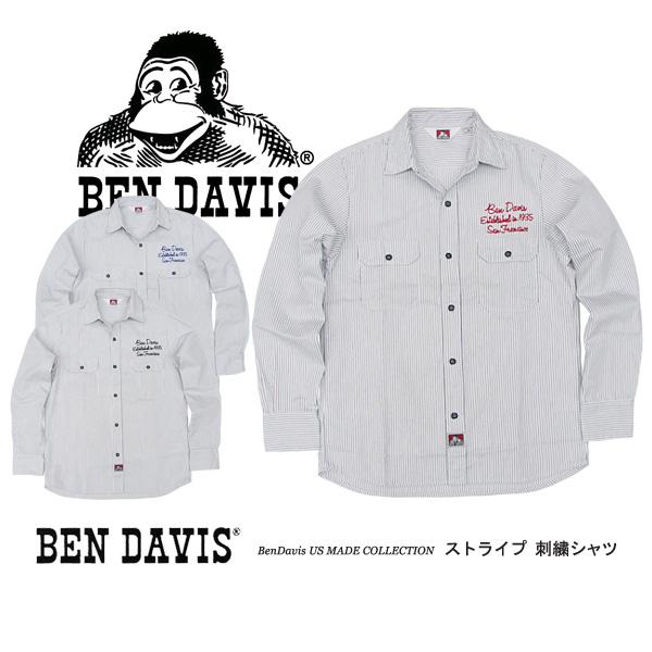 ベンデイビス ワークシャツ