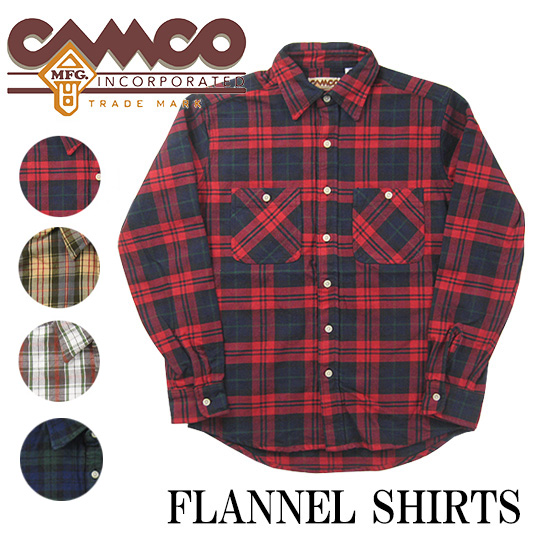CAMCO  カムコ フランネルシャツ 2016 【フランネルシャツ】 -JOE-