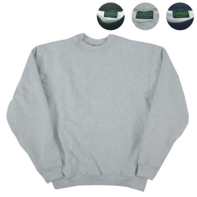 CAMBER キャンバー サーマルライン クルーネック スウェットシャツ THERMAL LINED C/NECK #244 【スウェットパーカー】 -JOE-