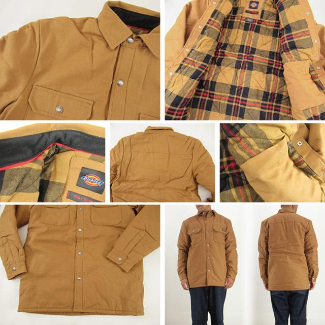 ディッキーズ シャツジャケット