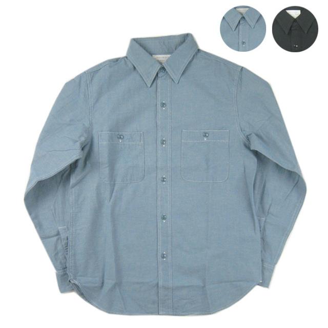 FULLCOUNT フルカウント BASIC CHAMBRAY ベーシック シャンブレーシャツ 4810  -JOE-
