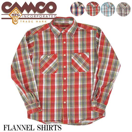 CAMCO  カムコ フランネルシャツ 【フランネルシャツ】 -JOE-