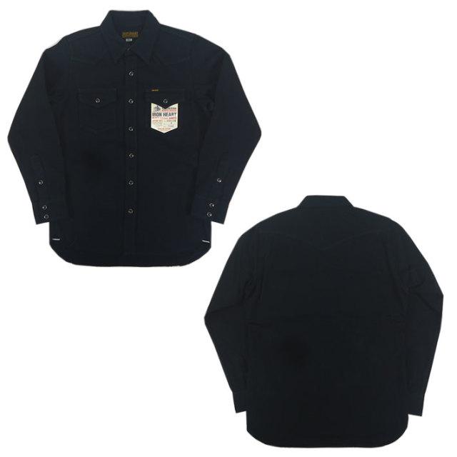 アイアンハート 黒鎧 ウエスタンシャツ