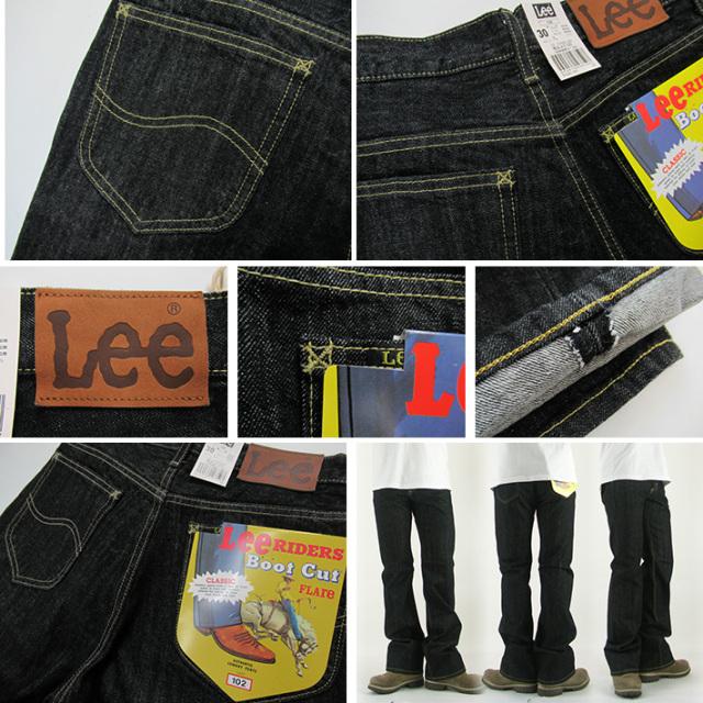 Lee ブーツカット ブラック