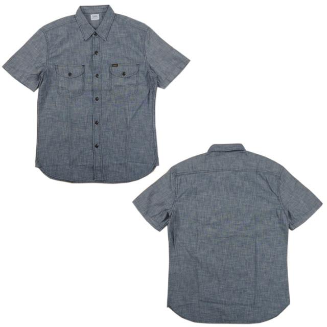 Lee シャンブレー ワークシャツ