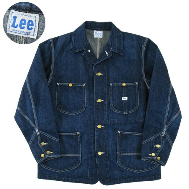 Lee リー ロコジャケット ミッドユーズド カバーオール LOCO JACKET デニムジャケット LT0659-136  -JOE-