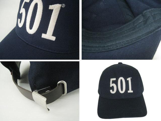 リーバイス501ベースボールキャップ