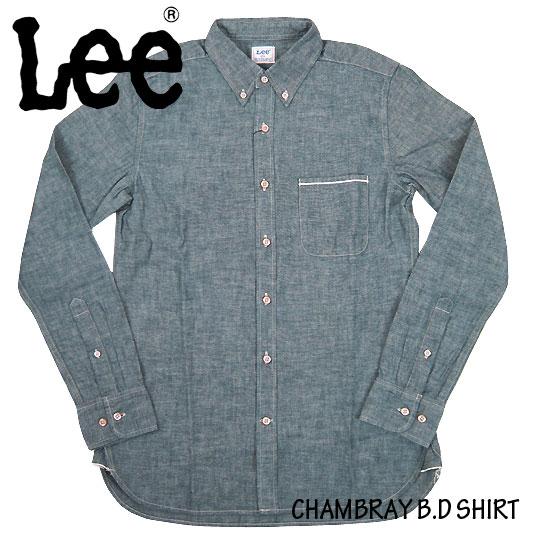 Leeシャンブレーシャツ