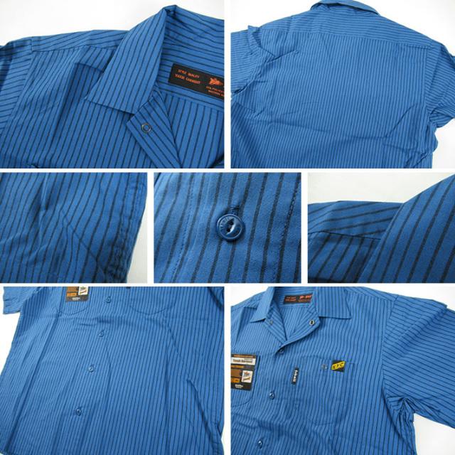ショット 半袖ワークシャツ