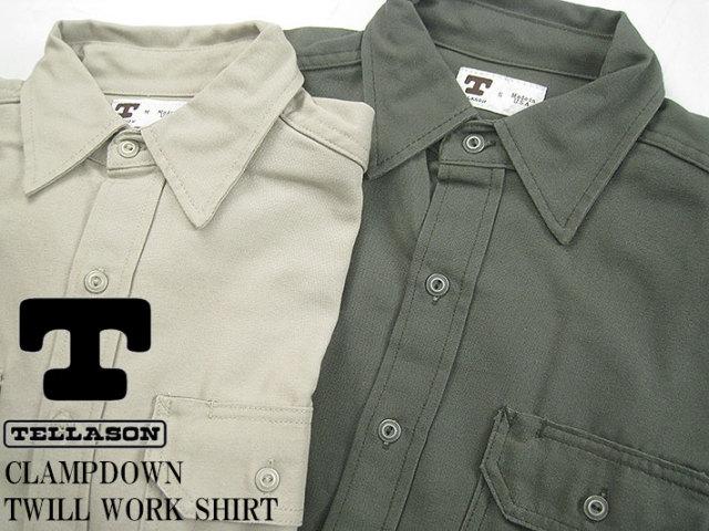 テラソン ツイルワークシャツ