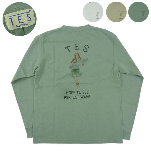 TES エンドレスサマー HULA BETTY 長袖Tシャツ FH-0374319 【長袖Tシャツ】 -JOE-
