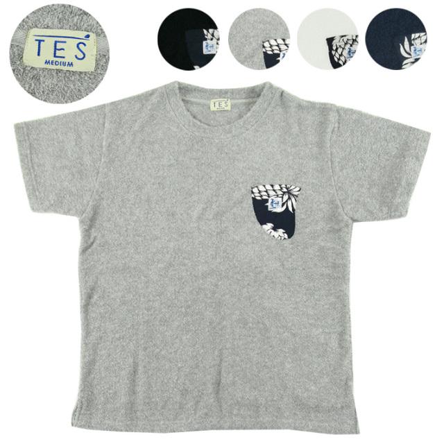 TES フィンポケット パイル Tシャツ