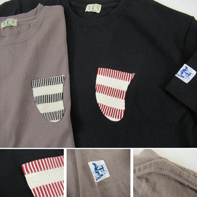 TES フィンポケット Tシャツ