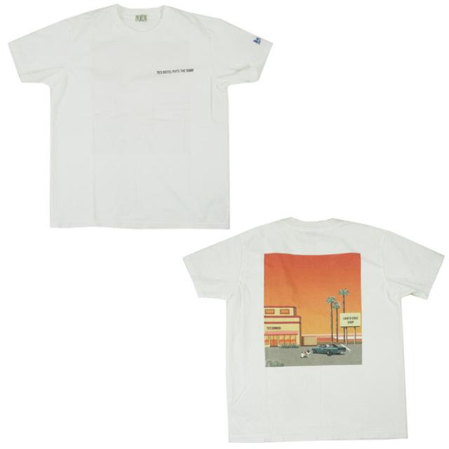TES サーフ Tシャツ