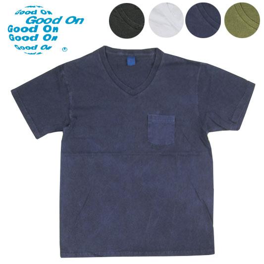 Good On ポケットVネックTシャツ