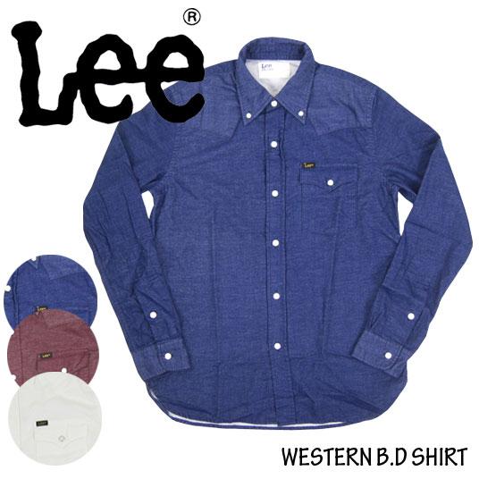 Lee ウエスタンシャツ