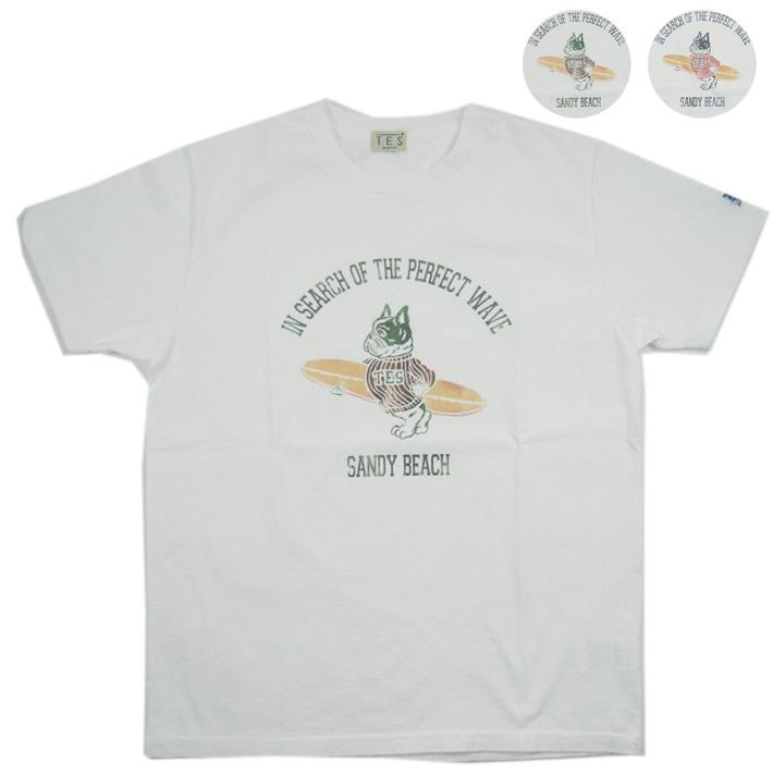 TES サーフィン Tシャツ