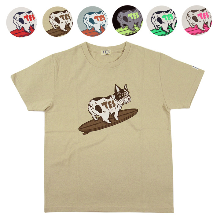 TES エンドレスサマー サーフ Tシャツ TURN BUHI TEE  FH-9574334 【半袖Tシャツ】 【メール便可】 -JOE-