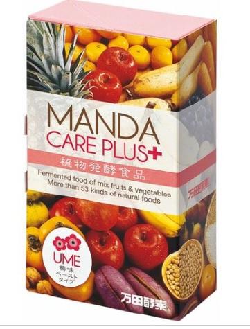 万田酵素 MANDA CARE PLUS(梅味・ペーストタイプ)2.5g×30包