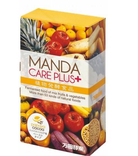 万田酵素 MANDA CARE PLUS(パパイヤ+ココア味・ペーストタイプ)2.5g×30包