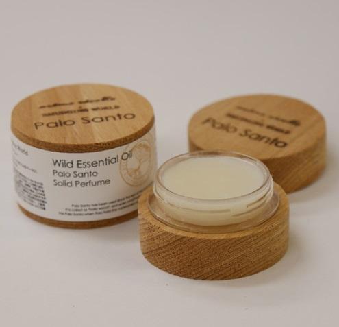 【全2種・日本製】アロマレコルト エッセンシャルオイル ソリッドパフューム <練り香水>