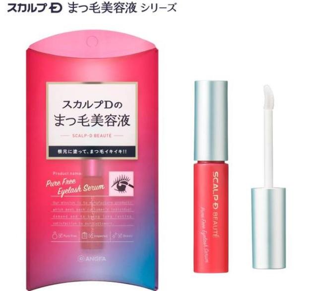 【スカルプD】ピュアフリーアイラッシュセラム 6ml 1本