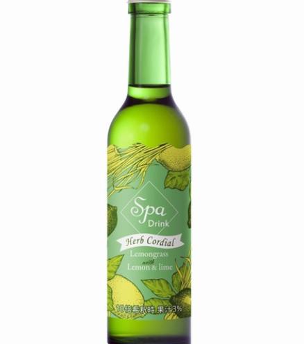 【数量限定】スパドリンク ハーブコーディアル レモングラス 295ml