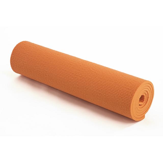 La-VIE(ラ・ヴィ) もちふわヨガマット 10mm オレンジ