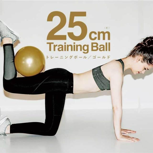 La-VIE(ラ・ヴィ) トレーニングボール 25cm ゴールド